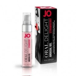 JO Oral Delight - Strawberry  Sensation - 1 Oz.