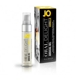 JO Oral Delight - Vanilla -  1 Oz.