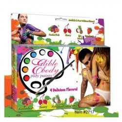 Edible Body Play Paints Kit