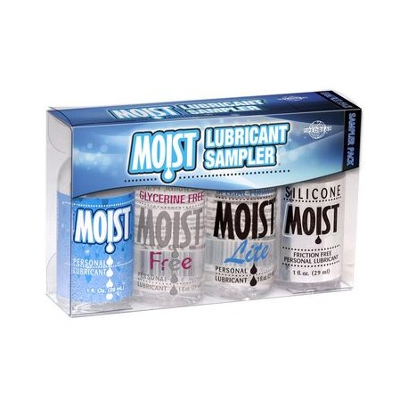 Moist Sampler Pack (4-1oz Bottles)