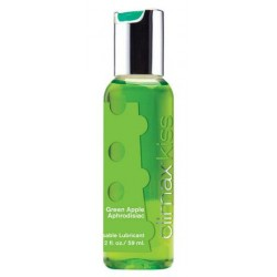 Climax Kiss Lubricant 2 oz. - Green Apple