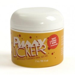 Pussy Licker Flavored Oral Sex Gel - Strawberry