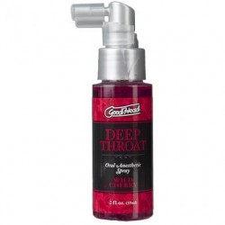 Goodhead Deep Throat Oral Aneshetic Spray 2 oz. - Wild Cherry
