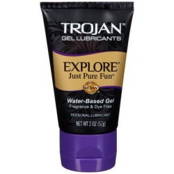 Trojan Explore Water-based Gel Lubricant - 2 Oz.