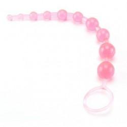 X-10 Anal Beads - Pink