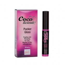 Coco Licious Pucker Gloss .28  Oz. Boxed - Strawberry Mint