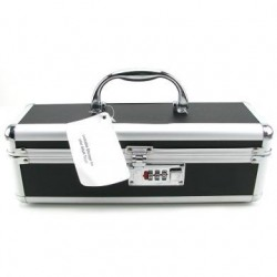 Lockable Vibrator Case - Black