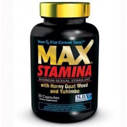 Max Stamina 30 Count Bottle