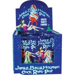 Jingle Balls Holiday Cock Ring Pop - 12 Piece Display