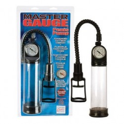 Master Gauge Penis Pump - Clear