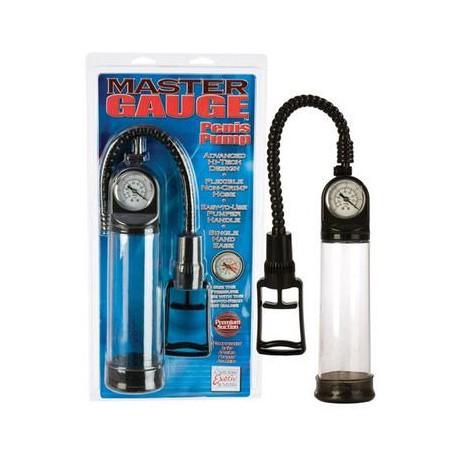 Master Gauge Penis Pump - Clear