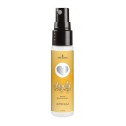 Deeply Love You Throat  Relaxing Spray - Butter Rum -  1 Oz.