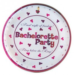 Bachelorette Party 10-Inch Plates - 10 Pack