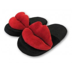 Hot Lips Slippers